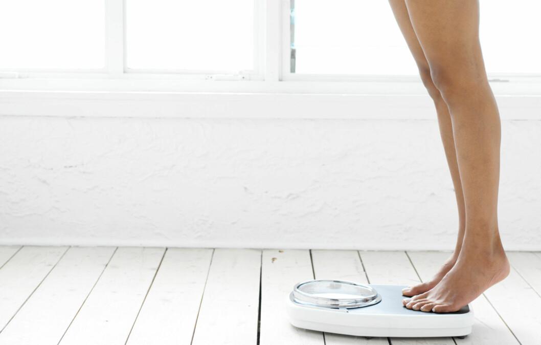 IKKE STRESS: Sunn vektreduksjon innebærer vanligvis at kiloene forsvinner i etapper. Dette er noe som kroppen i stor grad styrer selv.  Foto: Thinkstock