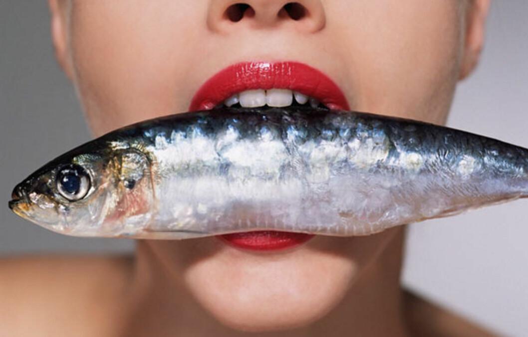 FET FISK: Ifølge fersk forskning fra Storbritannia kan regelmessig inntak av fet fisk, som makrell, motvirke demens.  Foto: Image Source