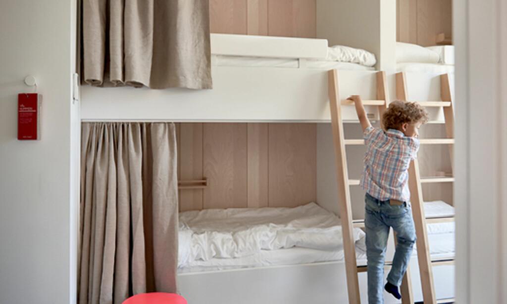 SOV GODT: Har du drømt om å bare legge deg ned og sove litt når du har vært i et Ikea-varehus? Nå kan du sove på et Ikea-hotell! Foto: Visit Sweden