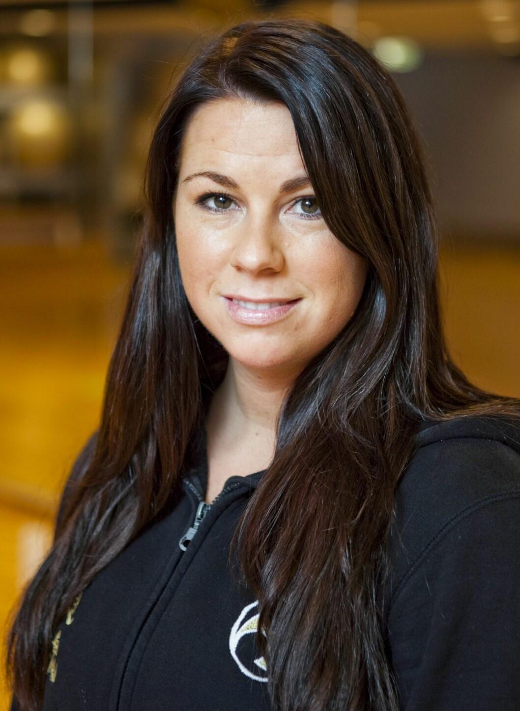 INSTRUKTØR: Stine Hegre er utdannet Budokon-instruktør fra USA og tok med seg konseptet til Norge i 2009. Hun har også timer på Frontline Academy i Oslo.  Foto: Per Ervland