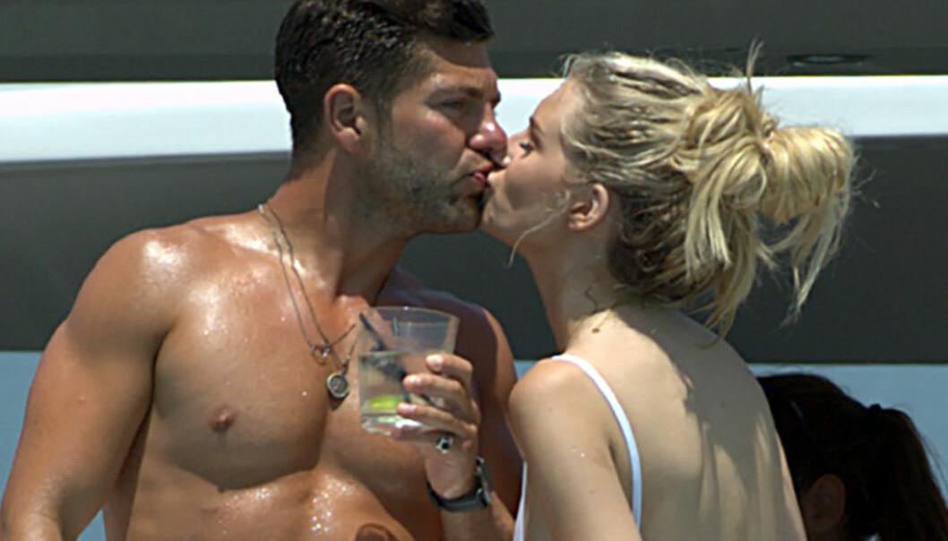 Lottie Moss Dyrket kjærligheten på Ibiza