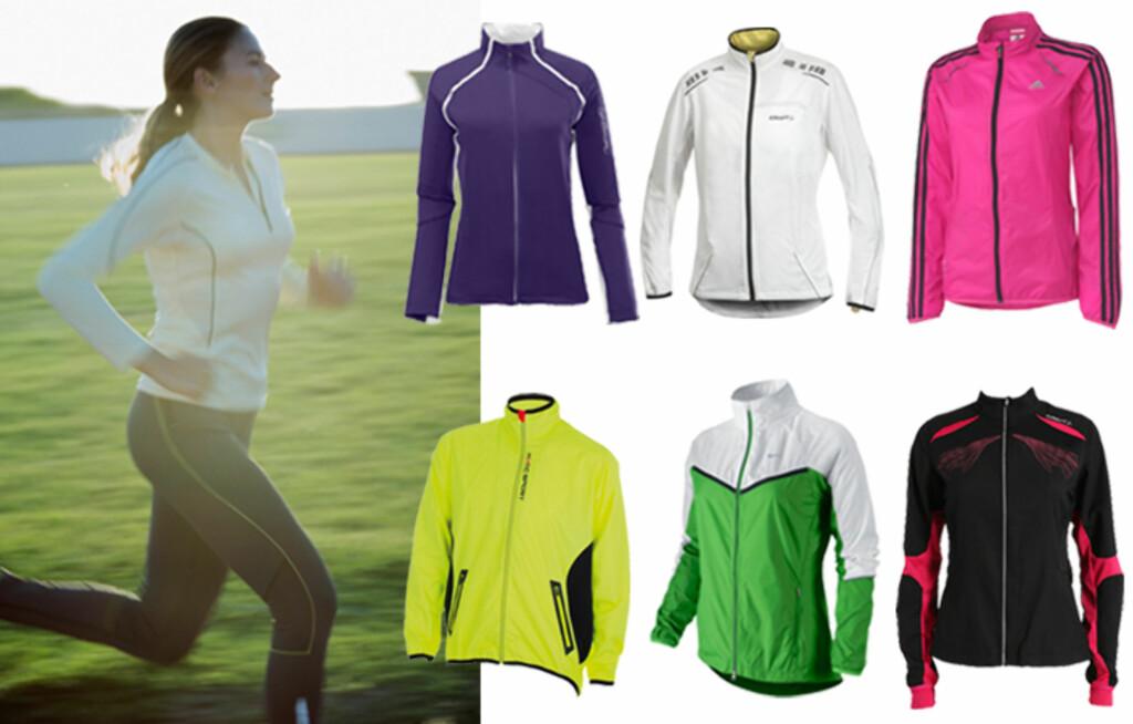 45fc0b74 GOD LØPEJAKKE: Det kan være lurt å kjøpe en trenings/løpejakke i god  kvalitet