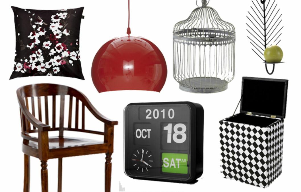 FRA ELLOS: Det svenske postordrefirmaet selger også interiørartikler. Se priser og flere produkter i bildeviseren under.  Foto: Ellos.no