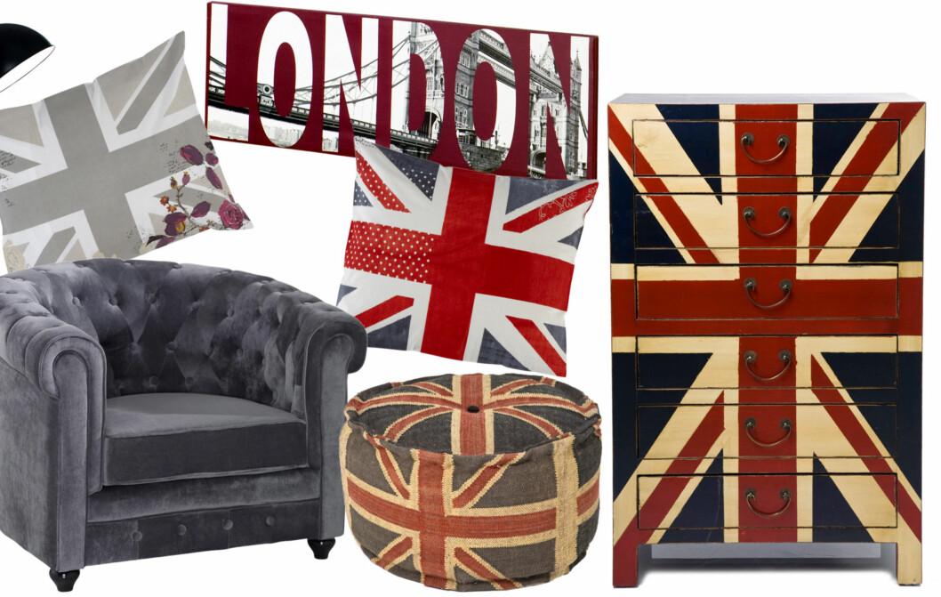 UNION JACK: Vi vender nesen mot Storbritannia for inspirasjon. Foto: Produsenten