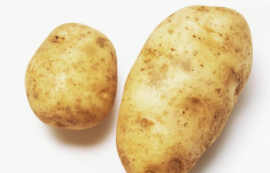 KOK OG SPIS DEN MED SKALLET PÅ: Da drar du best nytte av de gode næringsstoffene i poteten. Foto: Illustrasjonsbilde
