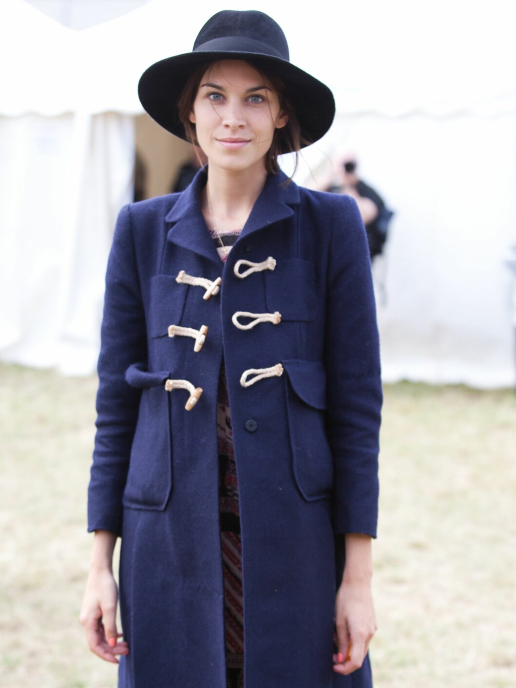 PADDOCK WOOD, UNITED KINGDOM - JULY 02: Alexa Chung attends the Hop Farm Music Festival on July 2, 2011 in Paddock Wood, United Kingdom. (Photo by Kate Booker/Redferns) By: All Over Press / Getty Images CODE: GE01X8 Foto: All Over Press