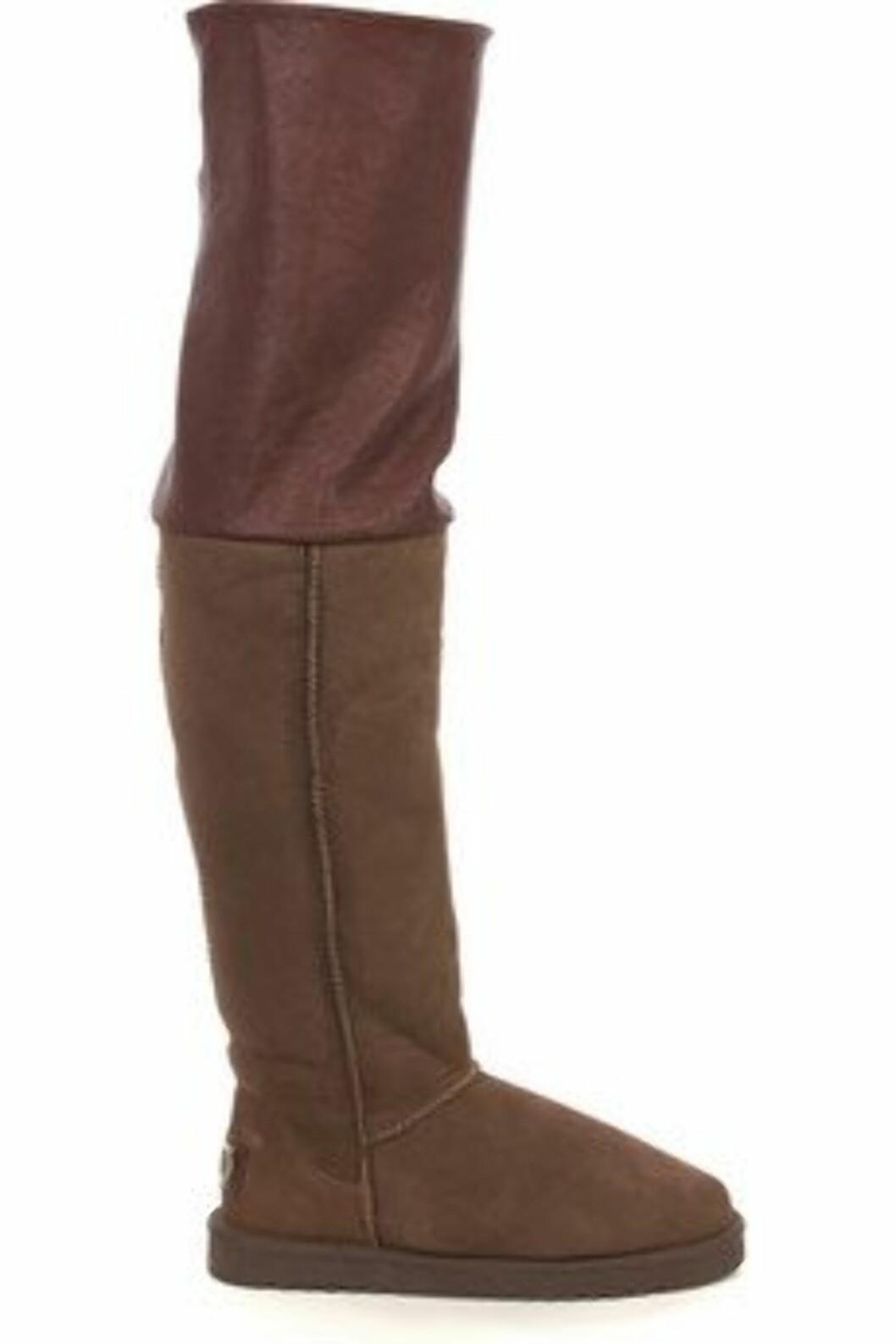 Også Australia Luxe Collective-bootsene er oppbrettbare. Øverste del er av skinn.  Foto: Produsenten
