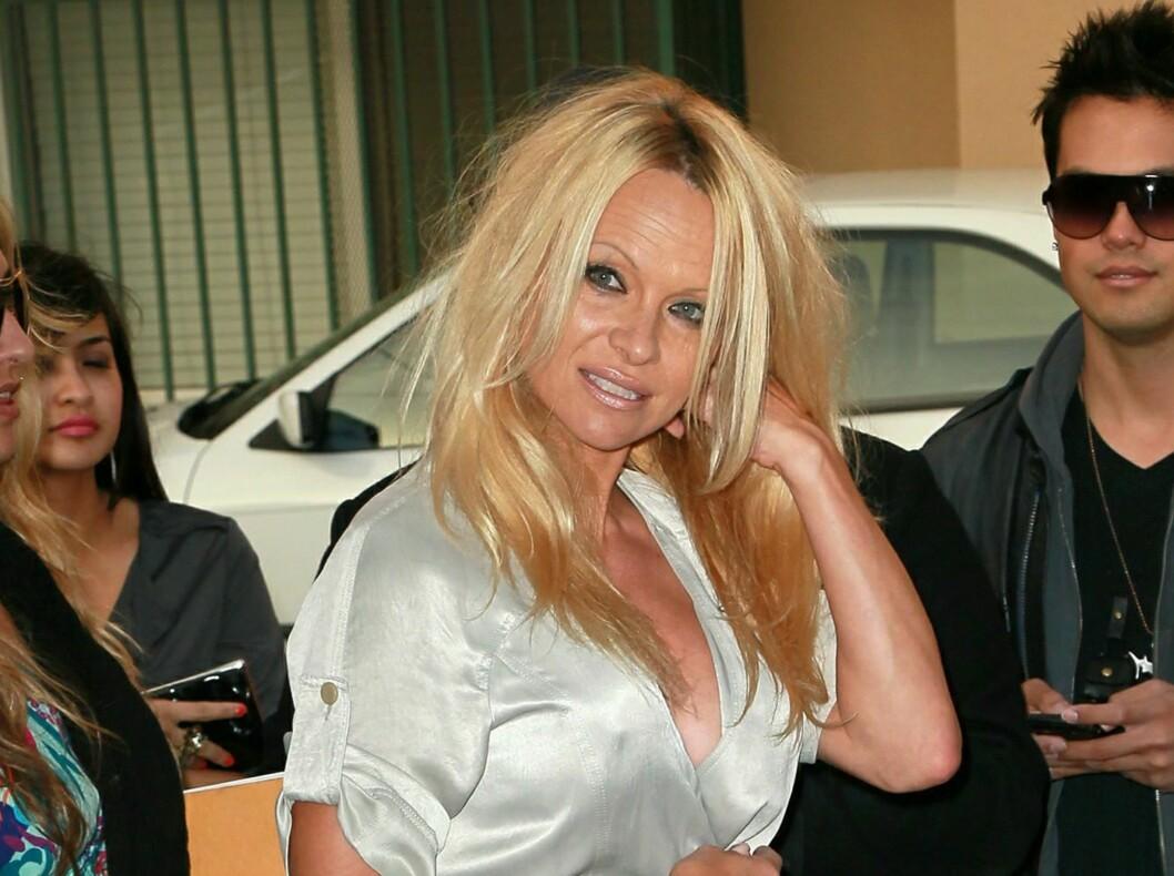 Pamela Anderson sine glansdager er over mener kommentator på trendtoppen. Foto: All Over Press