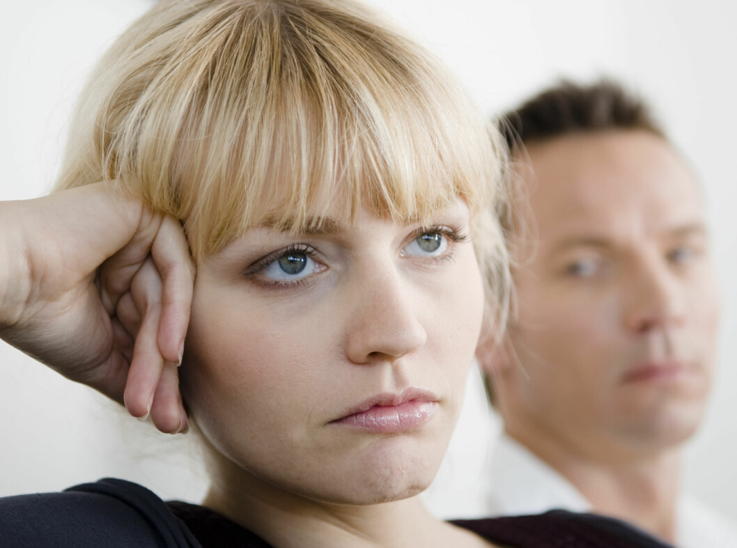 JA, EKTESKAPET STYRKER: Både forholdet mellom far og mor og forholdet mellom far og barn blir sterkere, viser ny norsk undersøkelse. Foto: Colourbox.com