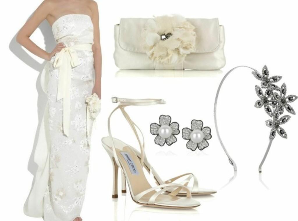654938fd Stroppeløs brudekjole i med paljetter, blonder og nydelige detaljer (ca kr  95000/Lanvin
