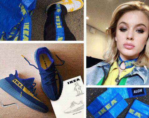 image: Produktene som er blitt laget etter Balenciagas Ikea-kopiering