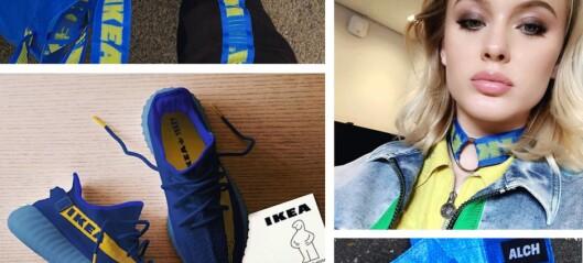 Produktene som er blitt laget etter Balenciagas Ikea-kopiering