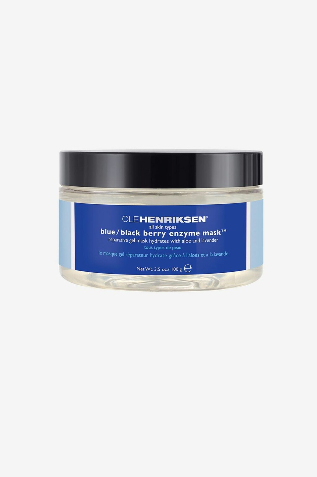 Ole Henriksen Blue/Black Berry mask roer ned tørr og sensitiv hud |kr 448
