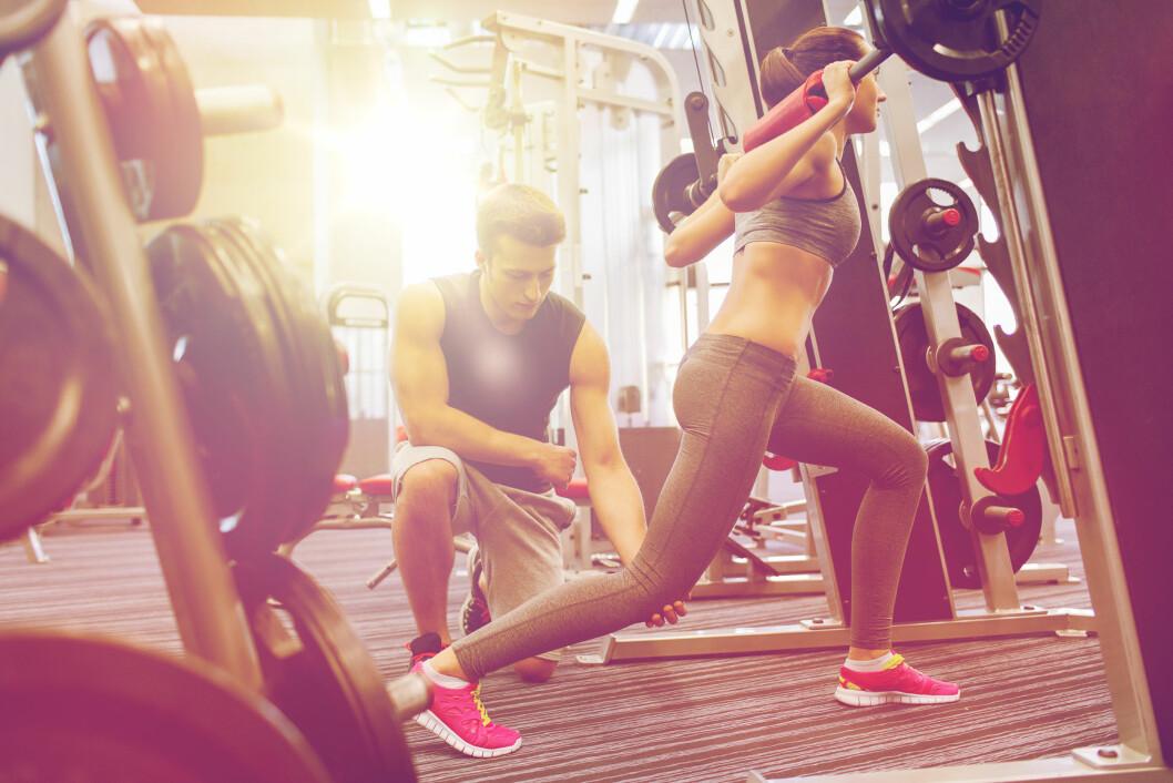 HUSK STYRKETRENINGEN: - Styrketrening er utrolig viktig og noe vi bør drive med hele livet. Foto: NTB scanpix