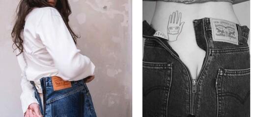 Vetements' jeanssamarbeid med Levi's får massiv oppmerksomhet