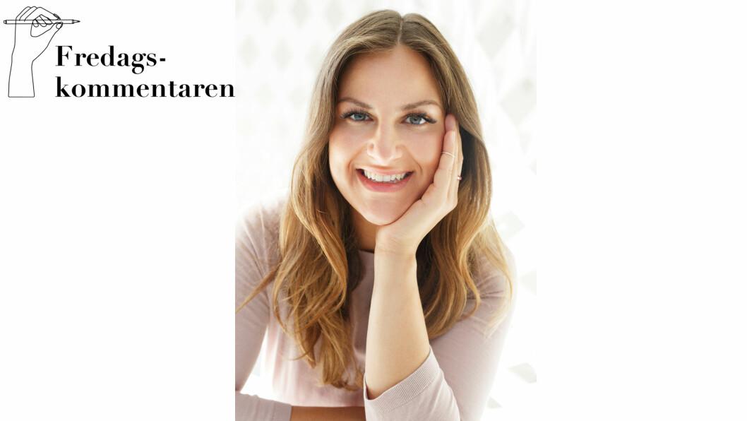 MENINGER: KK.no-journalist Malini Gaare Bjørnstad skulle bytte ut TV-titting med boklesing i 14 dager - det gikk ikke helt som planlagt. Foto: KK.no