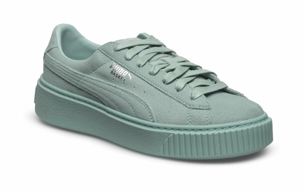 Turkise sneakers fra Puma |kr 1000