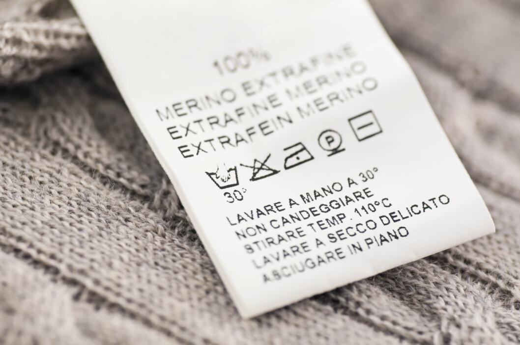 HÅNDVASKET ULL: Dagens vaskemaskiner er så skånsomme, at de behandler ullplaggene dine mer varsom enn du gjør med håndvask. Foto: Zoonar GmbH / Alamy/All Over Press