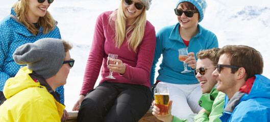 Så mange kilometer må du gå på ski for å forbrenne vinglasset