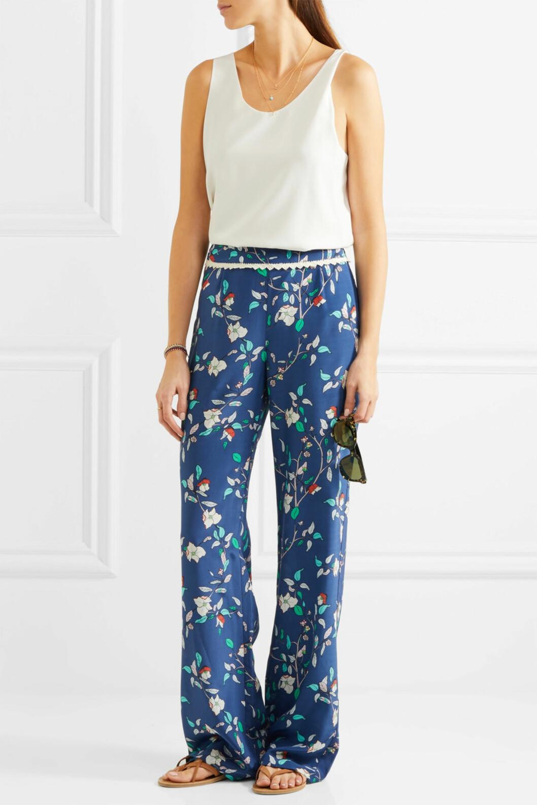 Mønstrete bukser fra Paloma Blue via netaporter.com |kr 2400 | http://apprl.com/sv/pd/4L18/