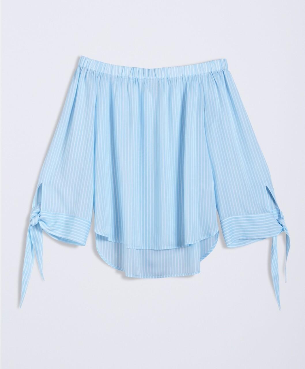 <strong>Off shoulder-bluse fra Gina Tricot |kr 199 | http:</strong>//apprl.com/sv/p/4Kj4/