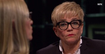 ADVOKAT GUNHILD LÆRUM: Gjestet nylig Trygdekontoret på NRK da temaet var voldtekt. Hun er kritisk til minstestraff. Foto: Skjermbilde NRK