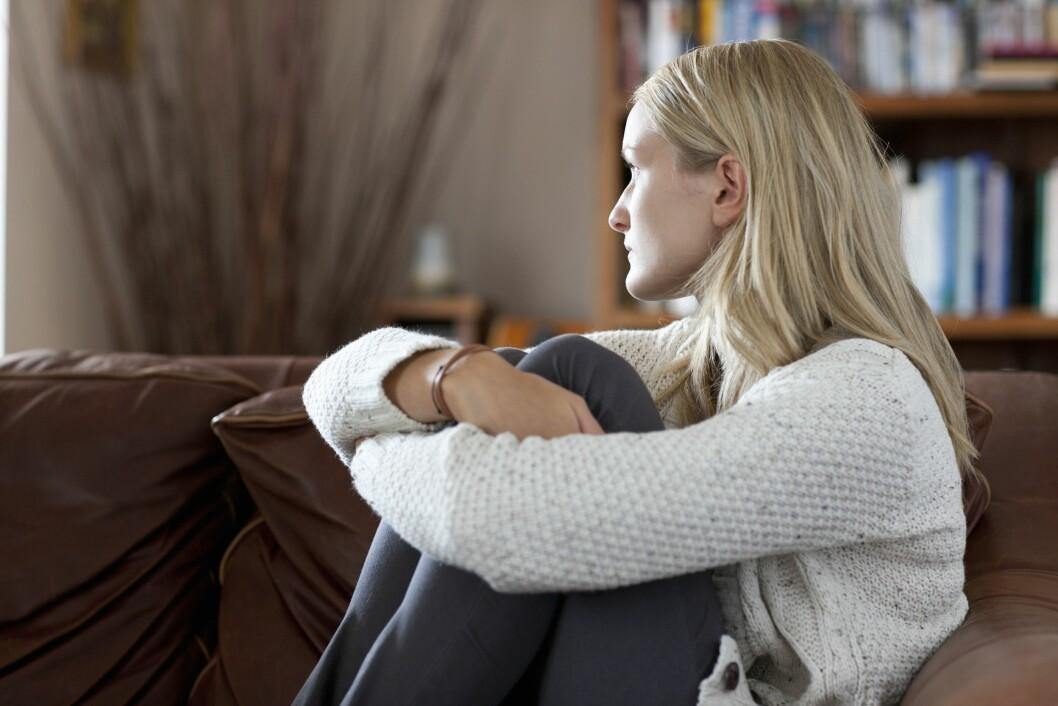 ISOLERER SEG: Personer med agorafobi har en tendens til å isolere seg.  Foto: REX/Juice/All Over Press