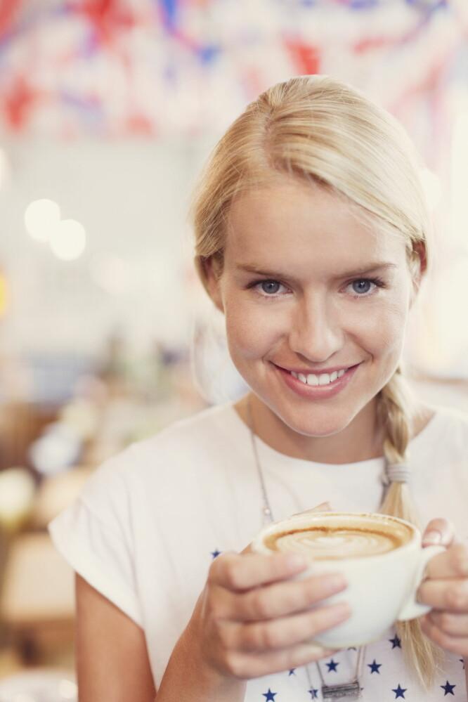 SUNT: Kaffe kan ha helsebringende effekter hvis det inntas i moderate mengder.  Foto: Science Photo Library