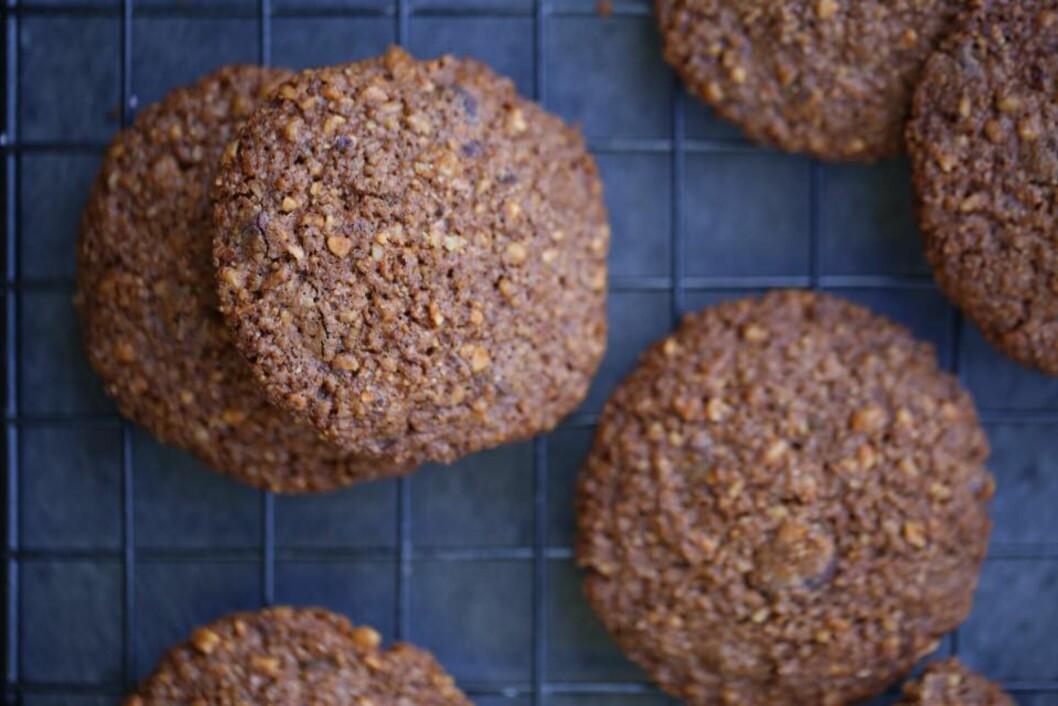 BLOGG: Grove sjokoladekjeks: Fri for sukker og gluten!