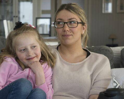image: Camilla er født med en alvorlig og komplisert hjertefeil