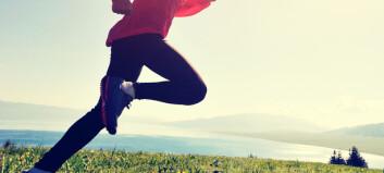 Bør løpere trene styrke?