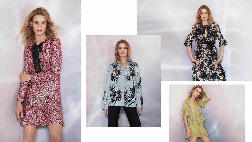 H&M CONSCIOUS EXCLUSIVE: Natalia Vodianova fronter den nye kolleksjonen. Foto: Produsenten