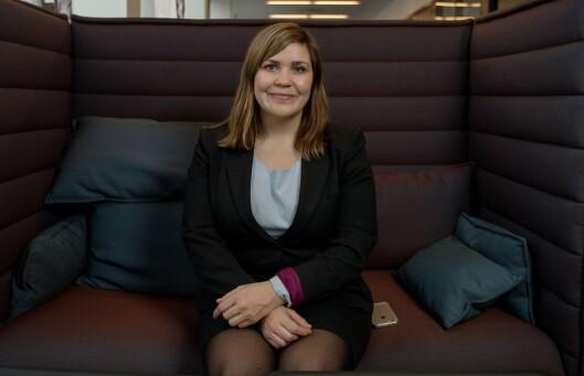 EKSPERTEN: Hanna Folkvord, finansrådgiver hos DNB.  Foto: Privat