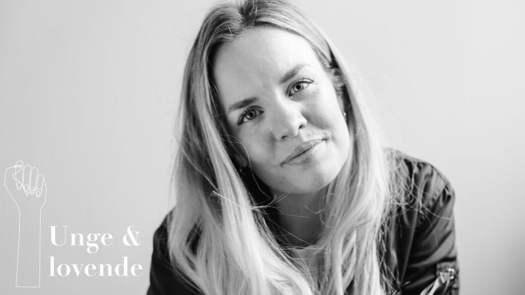 <strong>SILJE LARSEN BORGAN:</strong> I 2015 startet hun opp sitt eget PR-byrå.  Foto: Kaja Bruskeland