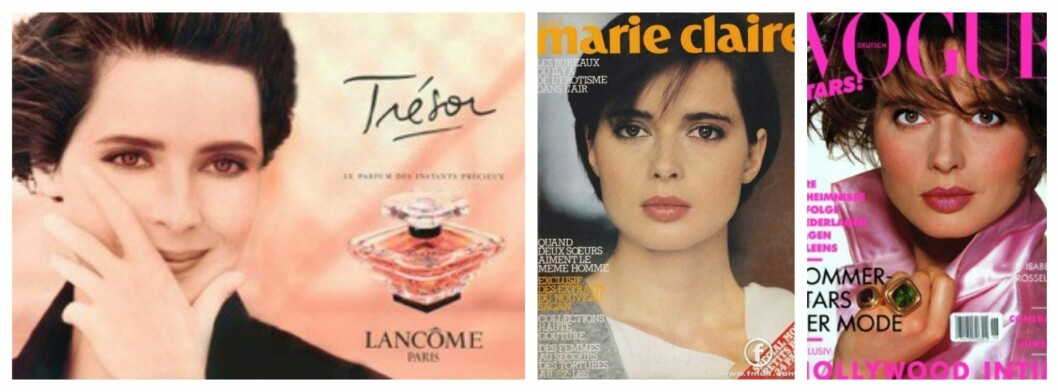 <strong>SUPERMODELL:</strong> Isabella frontet Lancômes parfyme Trésor i 1990. På 80- og 90-tallet var hun å se på utallige cover av magasiner som Vogue og Marie Claire.