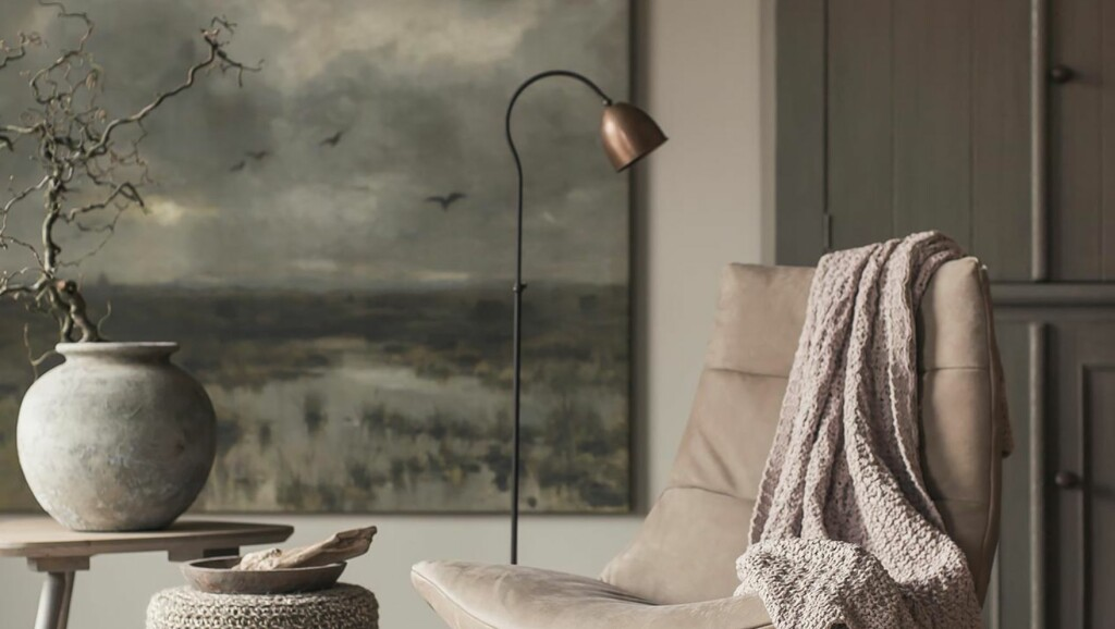 GOD BLANDING: Miksen av materialer og overflater i et innbydende interiør er ikke så tilfeldig som det kan se ut. Foto: Twoonhuis.nl