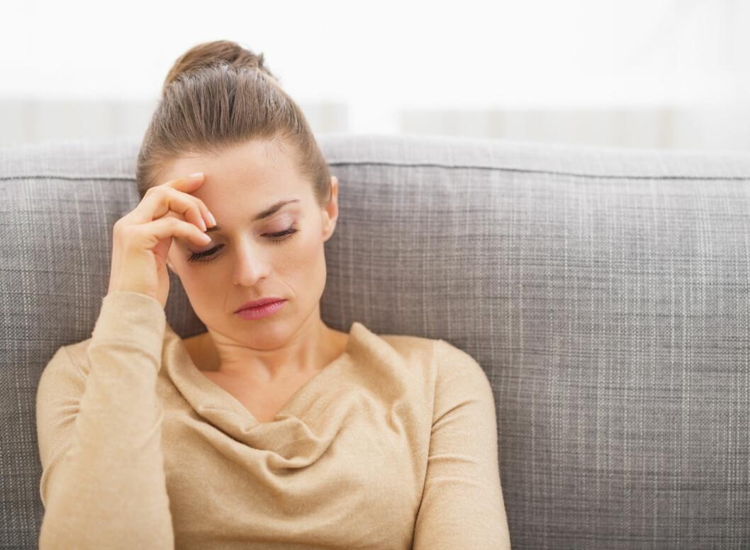 <strong>PÅVIRKER SØVNEN:</strong> Både stress, bekymringer og vonde hendelser kan resultere i at vi sover lettere, noe som øker sannsynligheten for oppvåkninger i løpet av natten. Foto: Alliance - Fotolia