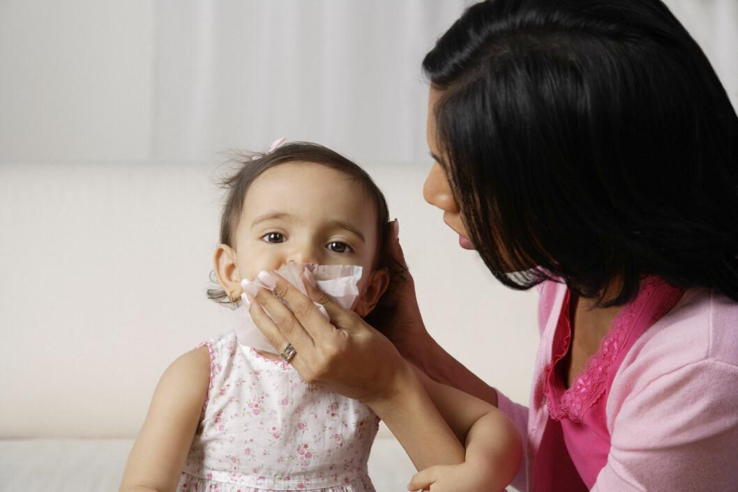SMÅBARNSFORELDRE: Har du barn i barnehagen er du ekstra utsatt for vinterens mange sykdommer. Foto: (c) Picture India/Corbis/All Over Press