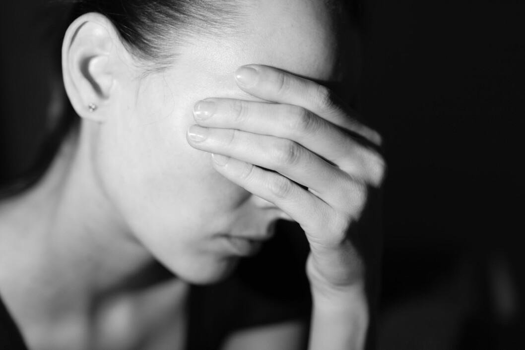 SANSEFORSTYRRELSE: Synsforstyrrelser kan være sikksakklinjer i synsfeltet, tunnelsyn, vibrerende synsoppfattelse, tåkete synsfelt og flekker i synsfeltet. Foto: Shutterstock / KieferPix