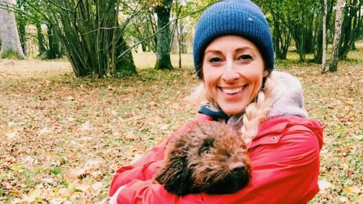 ANMELDTE DRAPSTRUSSEL: Jannecke Weeden opplevde at en mann ringte henne og truet med å drepe familien hennes. Da anmeldte hun saken til politiet.  Foto:  Foto: Privat