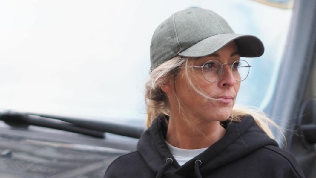 JANNECKE WEEDEN: TV-profilen Jannecke Weeden har flere ganger opplevd å bli kontaktet av slibrige menn. Den såkalte «tightsmannen» er blant dem som har trakassert henne og familien. Foto: Privat