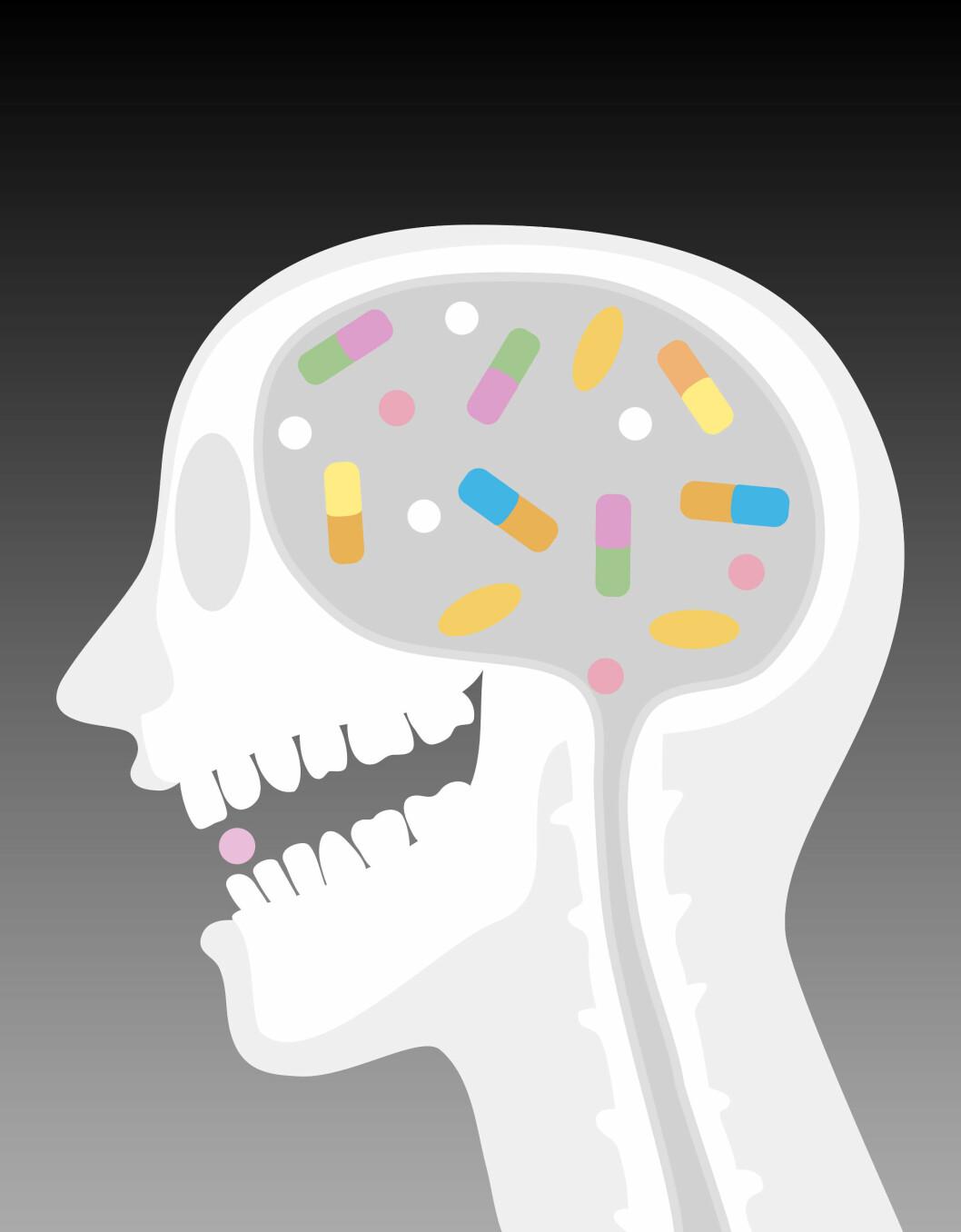 IKKE EN LYKKEPILLE: Antidepressiva blir misvisende kalt en lykkepille, sier forsker Bramness. Foto: (c) Illustration Works/Corbis/All Over Press
