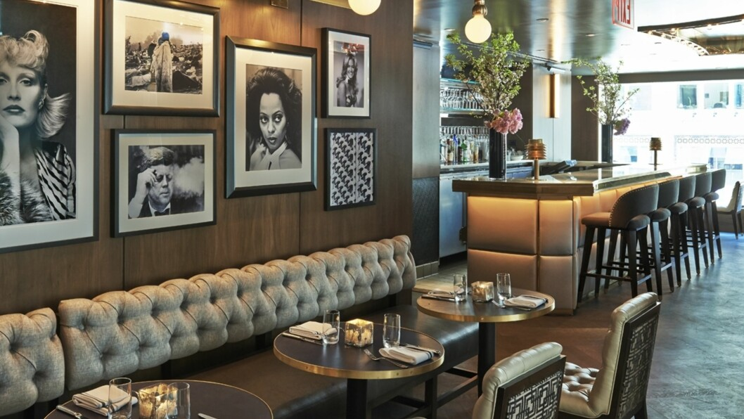 INSPIRASJON INTERIØR: Du kan lett hente inspirasjon fra blant annet The Wayfarer Restaurant i New York. Og andre lekre restauranter!   Foto: The Wayfarer