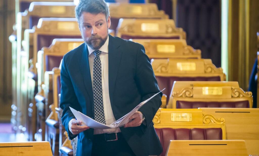 Får ikke fjernet tidstyver: Torbjørn Røe Isaksen.