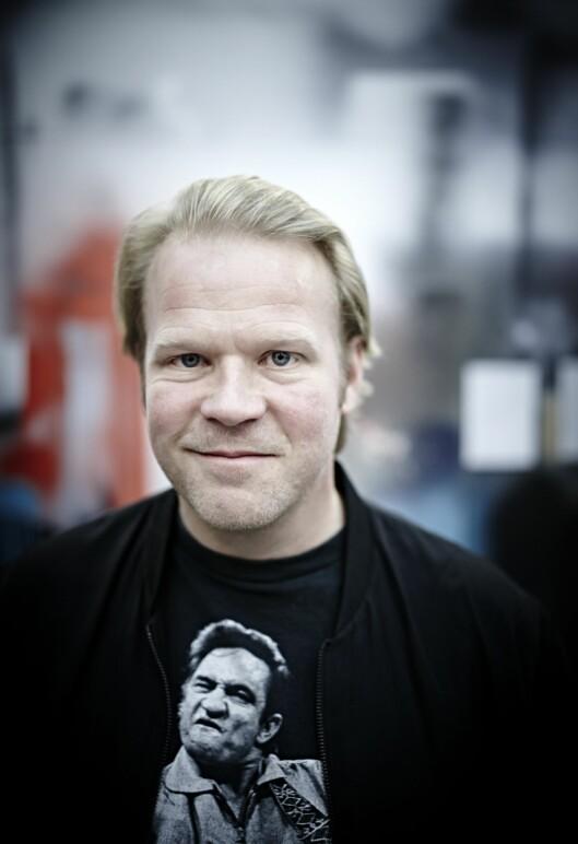 DYKTIG: Anders Baasmo Christiansen kom inn på teaterhøgskolen på første forsøk. Foto:  Foto: Geir Dokken