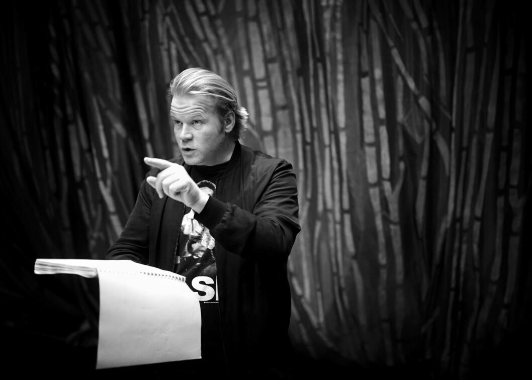 TILBAKE PÅ SCENEN: Anders elsker å undergrave folks forventninger, derfor tar han en pause fra kinolerretet for å gå tilbake til scenen. Foto:  Foto: Geir Dokken