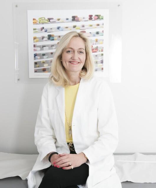 HODEPINESPESIALISTEN: Tine (Anne Christine) Buckley Poole er allmennlege med spesiell interesse for pasienter med migrene og andre hodepinetilstande. Hun har fra 2010 vært ansvarlig for Oslo Migreneklinikk. Foto: Privat
