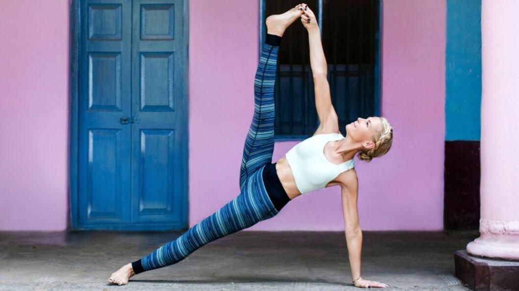 YOGA: Ønsker du å starte med yoga? I denne saken får du Vibeke Klemetsens beste tips.  Foto: ANTI