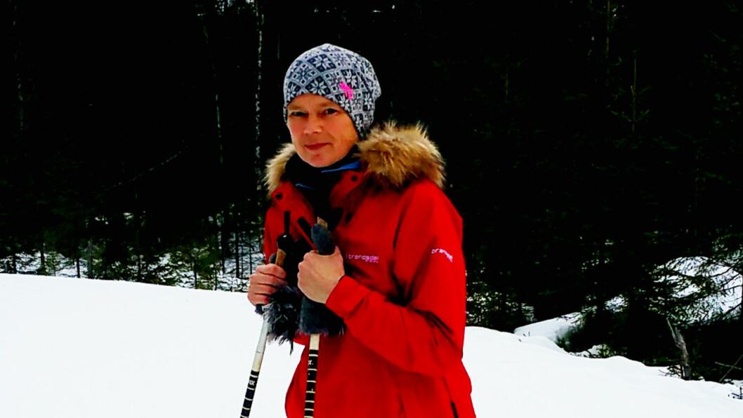 VANT OVER KREFTEN: Ingrid vant over kreften, men tiden etter har vært hard. Foto: Privat