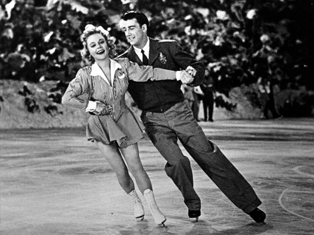 <strong>HOLLYWOODSTJERNE:</strong> Sonja Henie var i 1930-årene ikke bare Norges mest kjente idrettsutøver - hun var også landets mest kjente internasjonale filmstjerne.  Foto: NTB-arkiv Foto: NTB scanpix